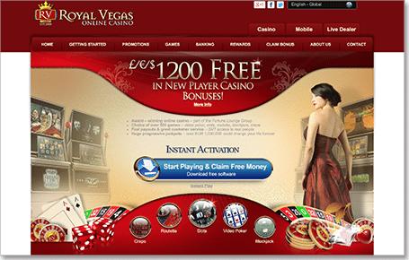 royal vegas online casino sizzlin hot